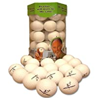 Almost Golf 36 Practice Ball Refill Pack - White