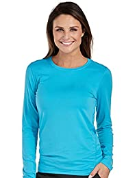 Med Couture Women's Performance Long Sleeve Underscrub T-Shirt Large Apple