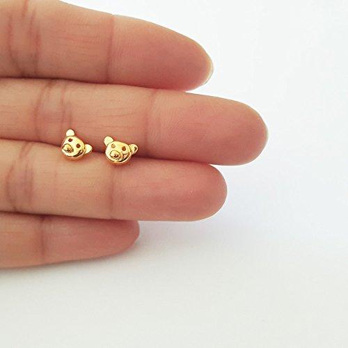gold-vermeil-teddy-bear-stud-earrings