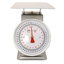 Zenport Accuzen AZD50 Platform Mechanical Dial Scale, 50-Pound