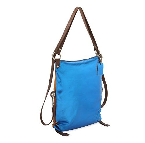 Hydestyle, sac à dos bleu multicolore pour femmes