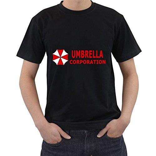 [Umbrella Gasmaske Resident Evil T-Shirt Short Sleeve By Saink Black Size 2XL] (Resident Evil 3 Pc Jill Costumes)