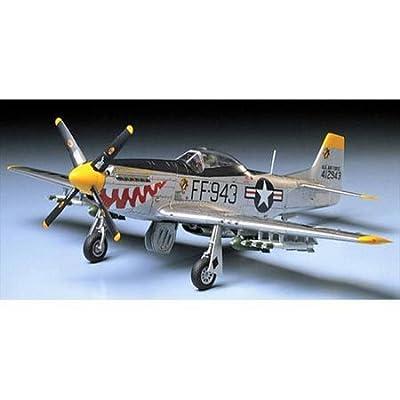 Tamiya America, Inc 1/48 F-51D Mustang, Korean War, TAM61044: Toys & Games