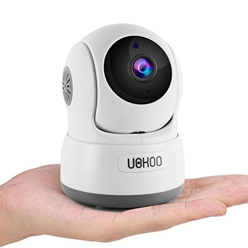 Wireless Security Camera, 720P HD Home WiFi Wireless Security Surveillance IP Camera with Motion Detection Pan/Tilt, 2 Way Audio and Night Vision Baby Monitor, Nanny Cam (NEW) by UOKOO