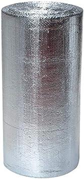 "48/"" x 125/' Roll Reflective Under Concrete Foil Double Bubble Poly Insulation"