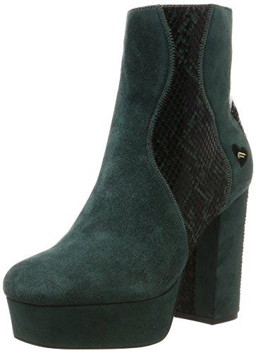 Tacco Green col Donna con 036 Verde Fornarina Scarpe Plateau Mina v8tASA