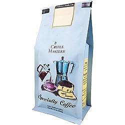 Coffee Masters Gourmet Coffee, Mocha Java Harrar, Whole Bean, 12-Ounce Bags (Pack of 4)