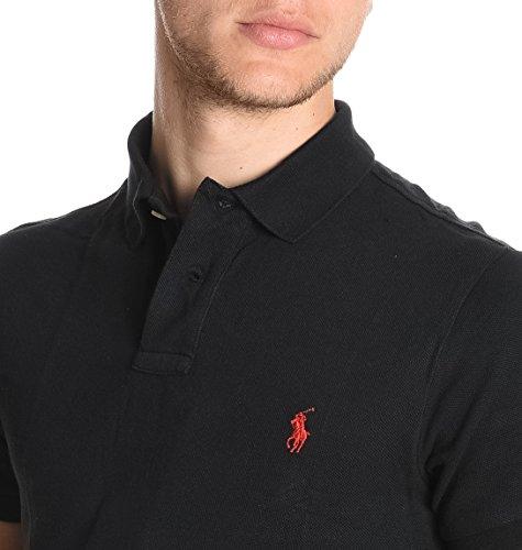 Ralph Lauren Herren A12KJO24BTNDRA00PB Schwarz Baumwolle Poloshirt