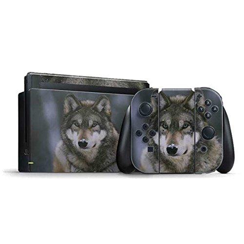 Animal Photography Nintendo Switch Bundle Skin - Gray Wolf at International Wolf Center | Animals & Skinit Skin by Skinit