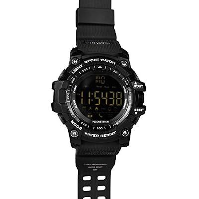 LEMFO Smart Watch Bluetooth Digital LED Smartwatch 5ATM Waterproof SMS Notifier Pedometer