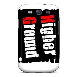 LauraAdamicska Samsung Galaxy S3 Bumper Hard Phone Case Support Personal Customs Realistic Papa Roach Image [Uvy19411bdkG]