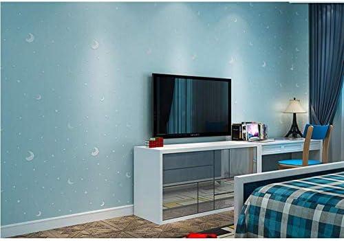 環境光る子供の壁紙」の部屋の壁紙寝室の男の子と女の子の暖かい星天井の壁紙