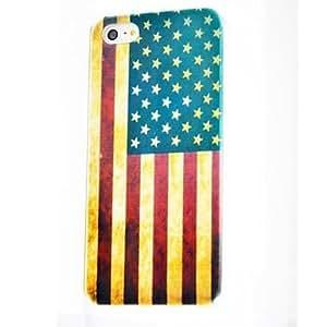 comprar El patrón de la bandera de Estados Unidos de policarbonato duro caso para iPhone 5/5S , Multicolor