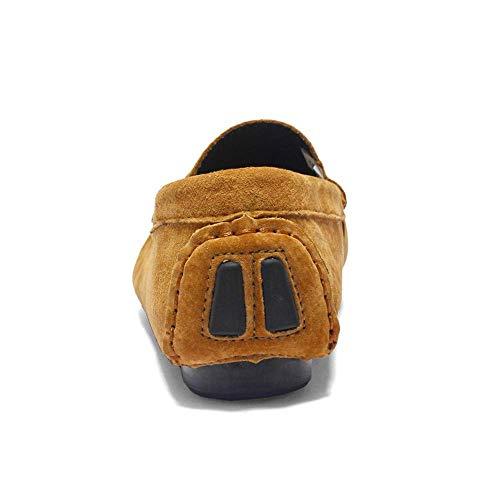 Casual Chaussures Et Sandals Mocassins Loafers Flat Unique Slipper Respirants 2018 Pour Les 42 coloré Drive Hommes 5 Oudan Montré Des Comme Confortables Jaune Montré Taille Sont 0vFpwq5Zv