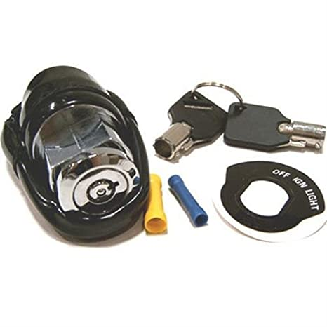 amazon com: bkrider round key ignition switch for harley-davidson oem  71428-90a: automotive