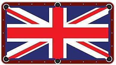 Bandera de Reino Unido Paño de billar mesa de billar fieltro, 9ft ...