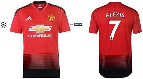 new style 80465 4b7c8 Manchester United Football Shirt 2018-2019 Home UCL - Alexis ...