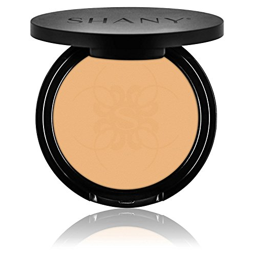 - SHANY Two Way Foundation, Oil - Free, Talc Free, Wet/Dry - LIGHT AMBER