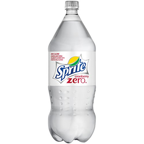 Sprite Zero Lemon Lime Cherry Diet Soda Soft Drink Cranberry, 2 Liters
