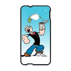 Popeye the sailor HTC One M7 Cell Phone Case Black MSY203247AEW
