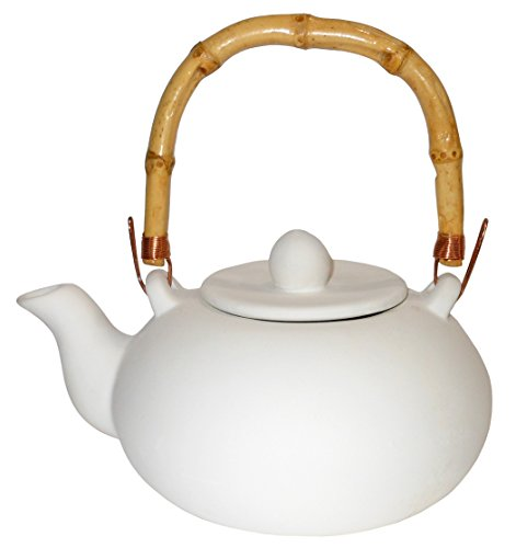 Japanese Teapot - Paint Your Own Authentic Ceramic Keepsake