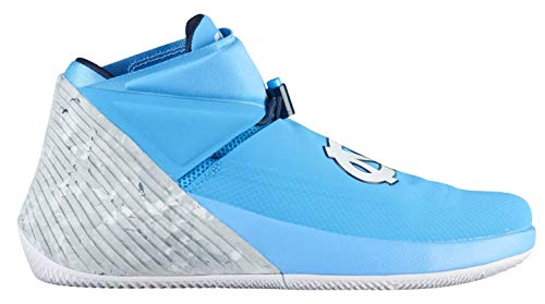 Jordan Brand Why Not Zer0.1 UNC North Carolina Tar Heels College Basketball Shoes - Size Men's 11 M US