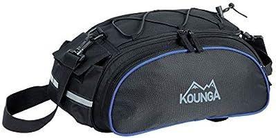 Kounga Bolsa Trasera para Bicicleta COTAMIL, Unisex-Adult, Negro ...