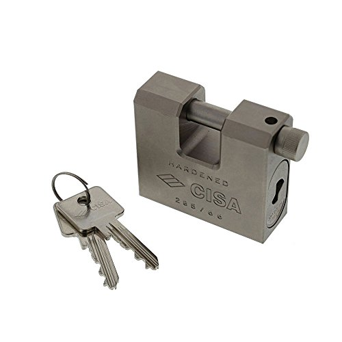 Cisa Straight Shackle Padlock 66 / (Straight Shackle)
