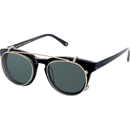 Han Kjobenhavn Timeless Clip-On Sunglasses – Black