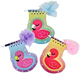 DollarItemDirect 4'' Flamingo Notebook with Feather Pen, Case of 288