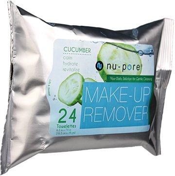 Nu-Pore Makeup Remover With Cucumber, Bulk Case of 24