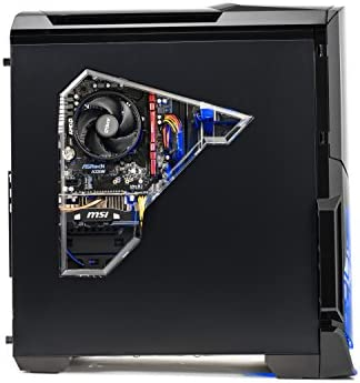 [Ryzen & GTX 1050 Ti Edition] SkyTech Shadow Gaming Computer Desktop PC Ryzen 1200 3.1GHz Quad-Core, GTX 1050 Ti 4GB, 8GB DDR4 2400, 1TB HDD, 24X DVD, Wi-Fi USB, Windows 10 Home 64-bit 41oiefeIcXL