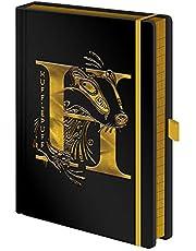 Writing Harry Potter Hufflepuff Foil A5 Premium Notebook, (SR72694)