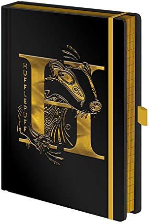 Pyramid Harry Potter Cuaderno A5 Premium Hufflepuff Foil
