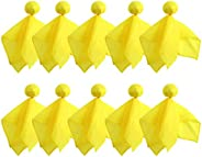 10 Pieces Penalty Flag Yellow Football Tossing Flags Sports Fan Set Penalty Flag Party Accessory