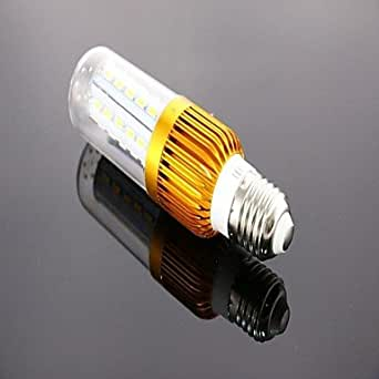 E278W 42* 5730smd 800lm 3000–3500K luz blanca cálida Bombilla LED de maíz (85–265V)