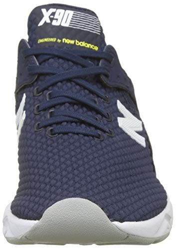 Balance Uomo 90 Sneaker Nv New X limeade Blu pigment dx4wCn