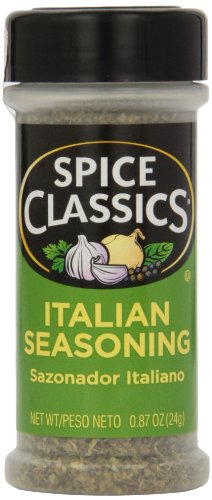 Spice Classics Italian Seasoning, 0.87 oz (Case of 12) by Spice Classics
