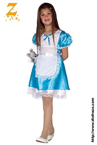 Disfrazo.com Disfraz DE Alicia Infantil T10: Amazon.es: Productos ...