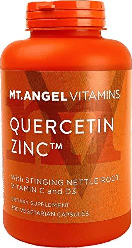 Quercetin Zinc Supplement – Immune Support Wellness Formula – Quercetin with Vitamins C and Zinc & D3 – Immunity Booster…