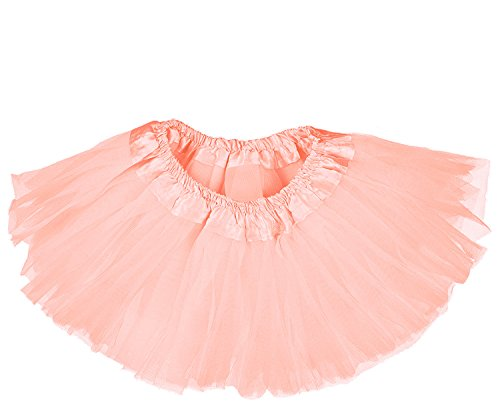 Dancina Orange Tutu Infant Photo Shoot Prop Peach 0-5 Months Rose -