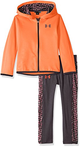 Under Armour Little Girls' Active Hoodie and Legging Set,...