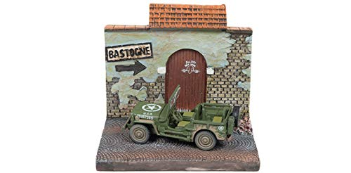 (Military WWII Willys MB Jeep with