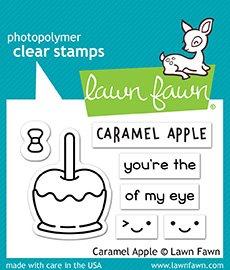 Lawn Fawn Caramel Apple Clear Stamp Set (LF1759)
