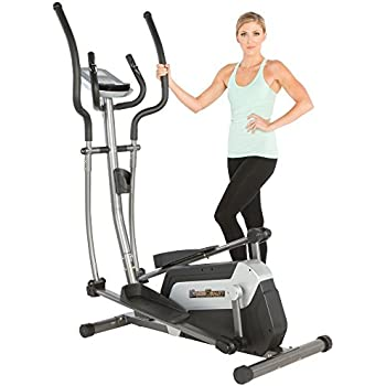 """Fitness Reality E5500XL Magnetic Elliptical Trainer with Comfortable 18"""" Stride"""