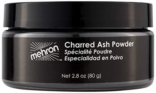 Mehron Makeup Charred Ash Powder (2.3 oz)