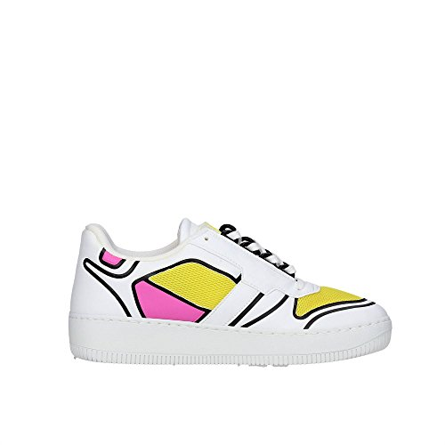 Bassa Bianco 8 Donna D a Slam Low Sneakers e t ppFaczU0