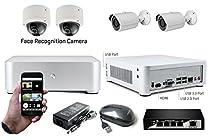Face Recognition Surveillance System, 4-ch H.265
