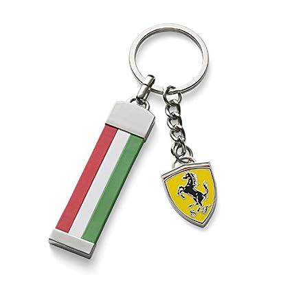 Ferrari llavero, diseño de bandera italiana: Amazon.es ...