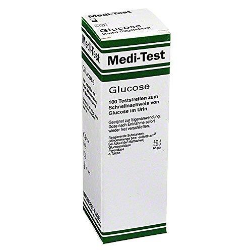 MEDI TEST Glucose Teststreif 100 St Teststreifen